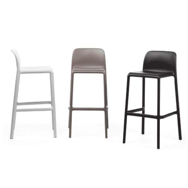Tabouret moderne empilable - Bakhita 4 Pieds  tables, chaises et