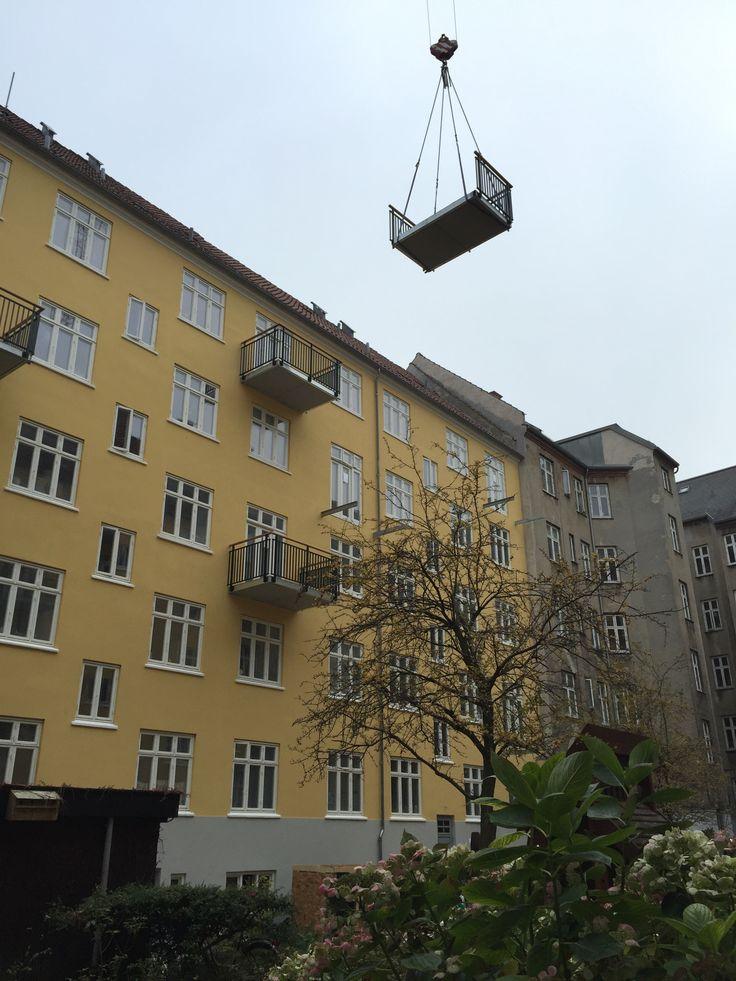 """""""Flyvende"""" altan :-)"""
