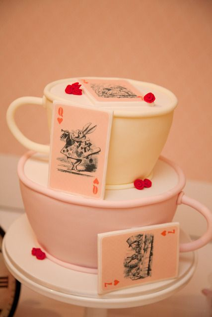 Alice in Wonderland - Mad Hatters Tea Party Birthday Party Ideas | Photo 6 of 22 | Catch My Party