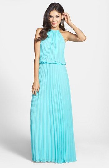 Xscape Pleat Cutaway Blouson Dress | Nordstrom $229 http://shop.nordstrom.com/s/xscape-pleat-cutaway-blouson-dress/3491494?origin=category
