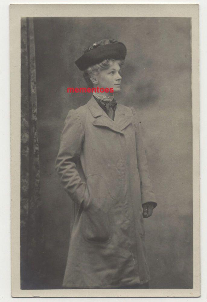 Lady Mabel Annesley Artist Wood Engraver Ireland RP Postcard c1915