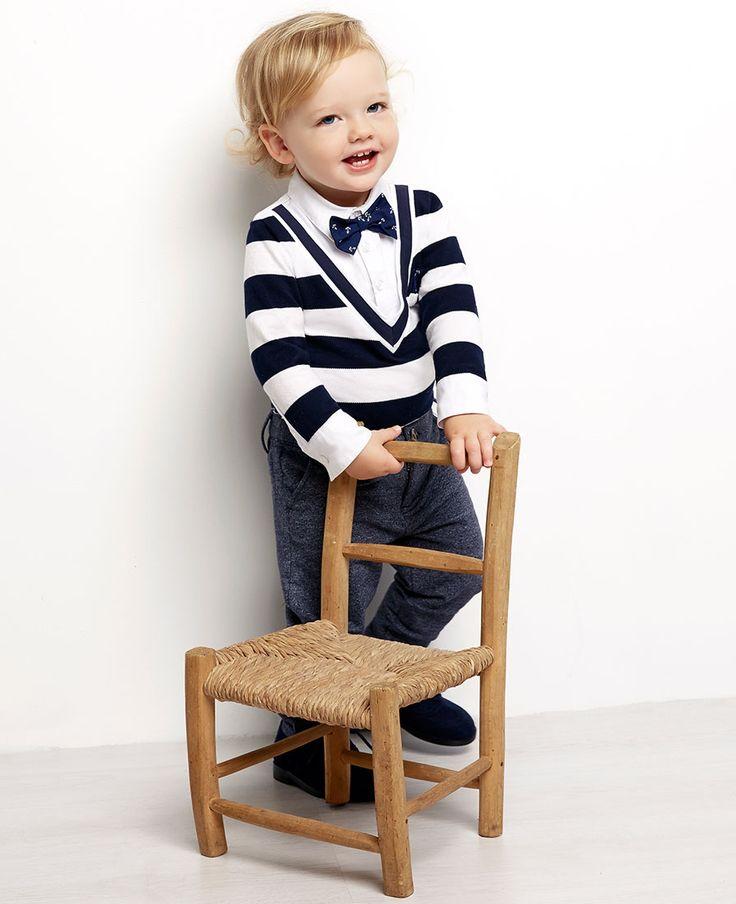Baby Boy's Track Chino - Bardot Junior