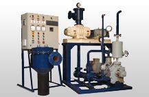 Mechanical Vacuum Boosters are dry pumps that meet most of the ideal vacuum pump requirements. They work on positive displacement principle and are used to boost the performance of water ring /oil ring /rotating vane /piston pumps and steam or water ejectors. They are used in combination with any one of the above mentioned pumps. visit - http://www.acmeairequipments.com/mechanical-vacuum-boosters-a-systems.html