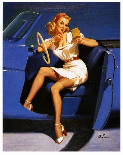 I Run Into The Most Interesting People - Gil Elvgren