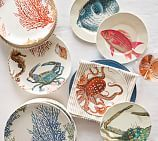 Under the Sea Critter Dinner Plate, Set of 4