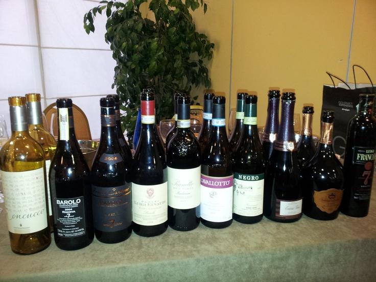 Curso de Vinos de Piemonte Italiano 16 DOCG y 45 DOC... y creía que sabía algo!