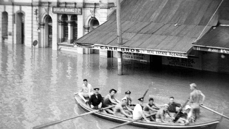 1955 Maitland flood.