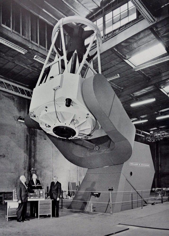 Rare Vintage BOLLER & CHIVENS Perkin Elmer BROCHURE Telescope Camera Optics