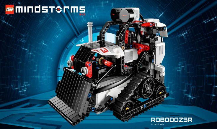#Robots #lego LEGO Mindstorms EV3. Historia, detalles y precios