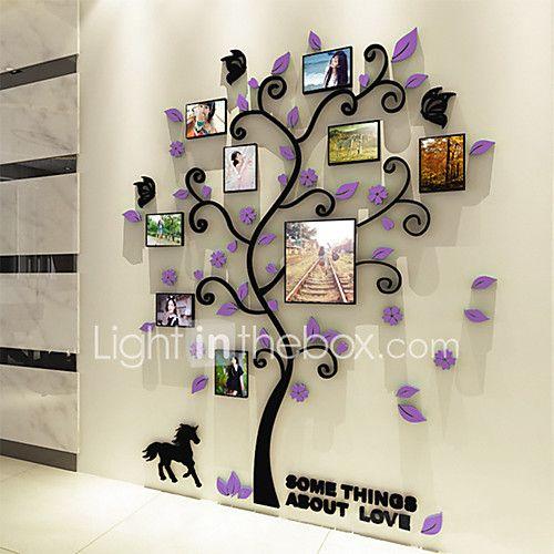 Botanický motiv Samolepky na zeď 3D samolepky na zeď Ozdobné samolepky na zeď,Vinyl Materiál Home dekorace Lepicí obraz na stěnu - USD $19.99 ! ŽHAVÝ výrobek! Žhavý výrobek za neuvěřitelně nízkou cenu je nyní ve výprodeji! Přijďte se podívat i na ostatní podobné výrobky. Získejte skvělé slevy, odměny a mnoho dalšího za každý nákup u nás!