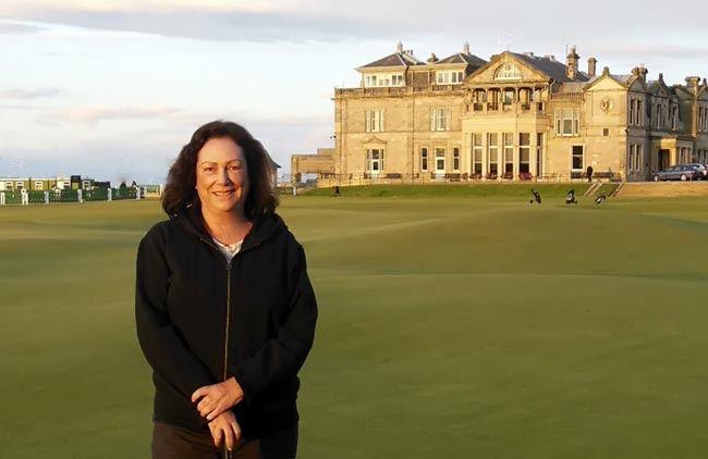 Vicky Whyte é a primeira mulher brasileira no Royal and Ancient Golf Club. Uma das mais importantes dirigentes do golfe nacional e internacional recebeu convite ao lado de personalidades
