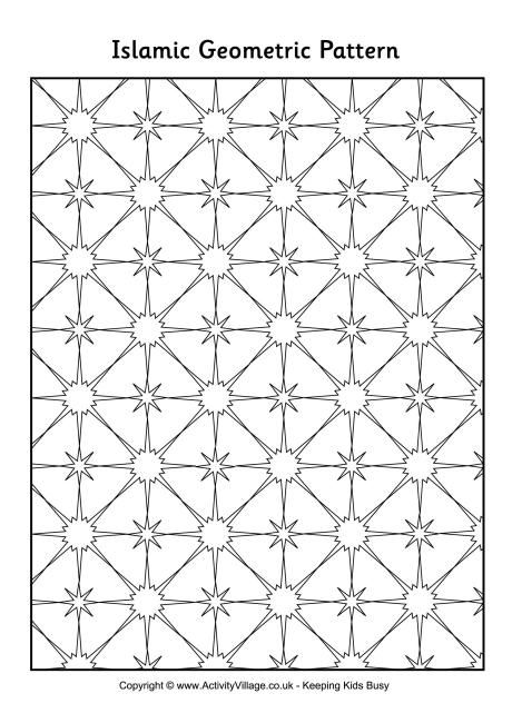 Islamic Coloring Pages Pdf : Best images about islamic activities on pinterest