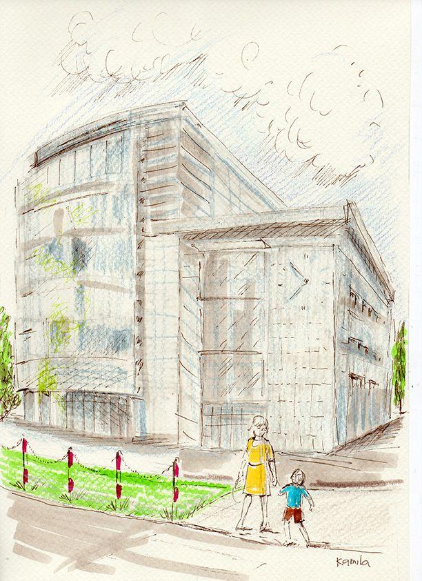 Drawing by Kamila Guzal-Pośrednik