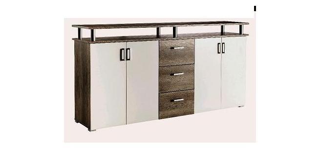 In diesem Sideboard werden Teller, Vasen, Besteck, Tischdecken - badezimmermöbel dänisches bettenlager