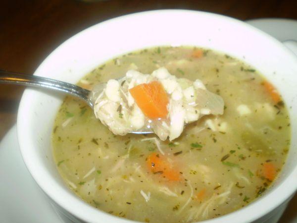 Chicken Spaetzle Soup