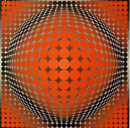 Image detail for -Through the French eye of design: VASARELY DREAMIN'