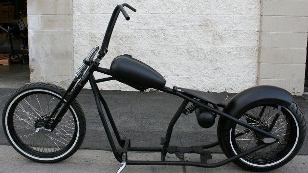 N119   old school   bobber   200 tire   pogo seat