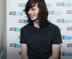 Thank you Chandler Riggs and the gif maker for making this perfect reaction shot. I expect to be using it alot…