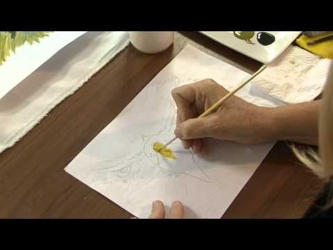 Sublimacion sobre tela - Como pintar una imagen y sublimarla - Ana Gjurinovich - YouTube