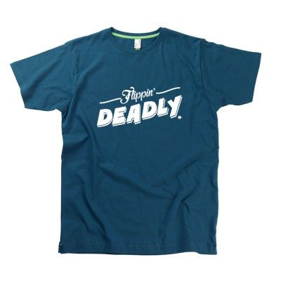 Flippin' Deadly Gent's T-Shirt by Hairy Baby