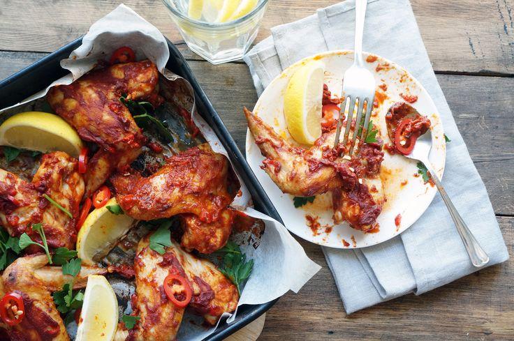 Острые куриные крылышки, пошаговый фото рецепт, кулинарный блог и интернет-магазин с доставкой по России, andychef.ru