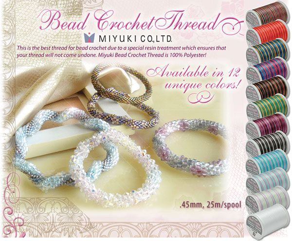 Fujix Bead Crochet thread