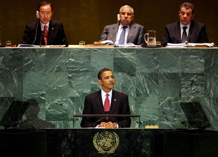 "POS Barry Obama: ""The U.S. Must Give Up Some Of Its Freedoms To The UN"""