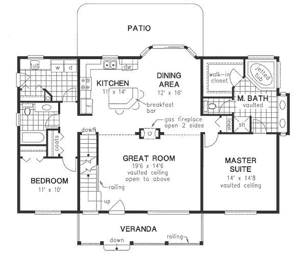The 25 best 30x40 house plans ideas on pinterest small for 30x40 floor plan