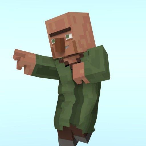 Minecraft Villager Head Costume minecraft villager | c...