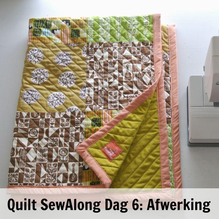 By MiekK - Easy Quilt SewAlong Dag 6: De Afwerking