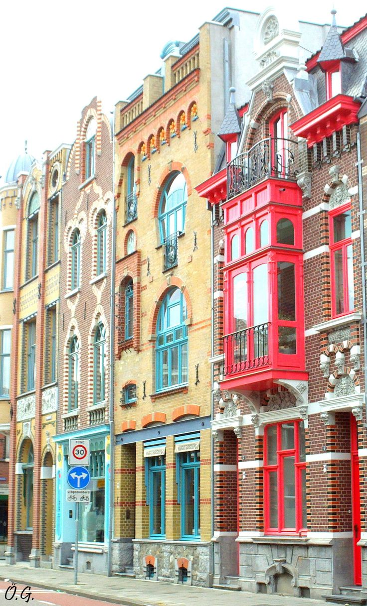 Colours in Venlo, The Netherlands