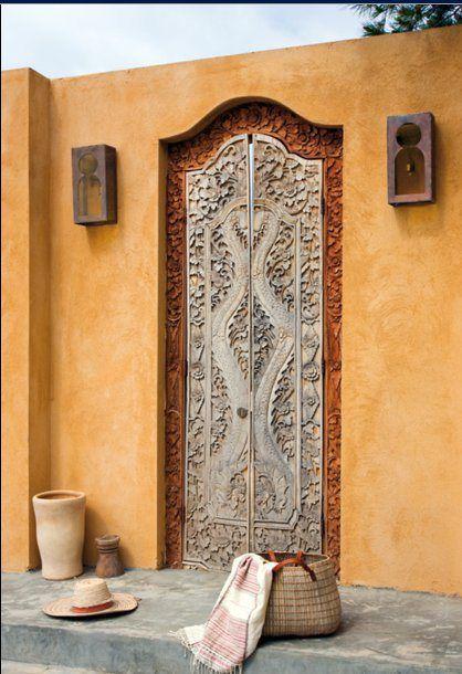 Carved Door, Ibiza