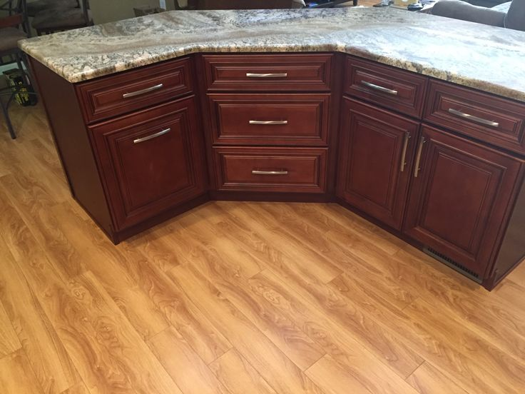 Charleston #Cherry Kitchen Cabinets #Remodel By Lily Ann #Cabinets  Hello howdy…