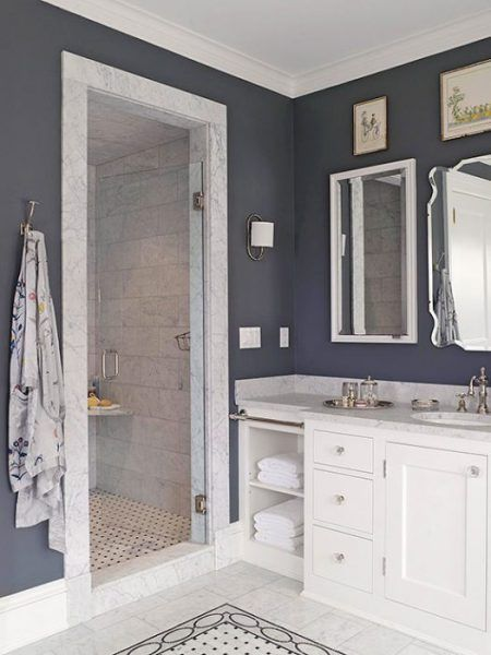 2016 Design Forecast Navy Room And Bath