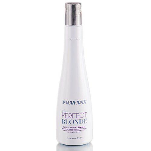 PRAVANA THE PERFECT BLONDE Purple Toning Sulfate-Free Shampoo 10.1 Oz