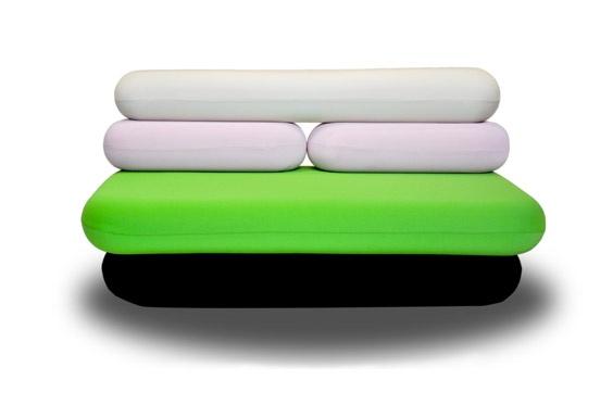 Domodinamica HotDog Couch, 2010 - Karim Rashid
