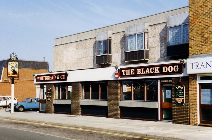 The Black Dog in Arundel Street was a 1965 replacement for a nearby pub of the same name. Now demolished to make way for flats.