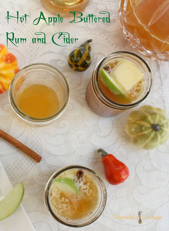 Hot Apple Buttered Rum and Cider | Recipe