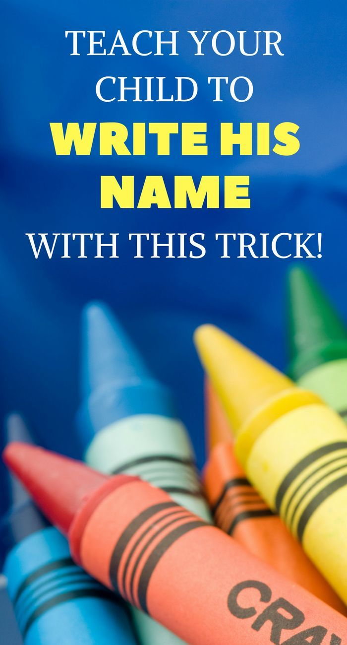 Help Your Preschooler Practice Name Writing With This Trick This Trick To Teach Kids To Write Their Nam Teaching Kids To Write Teaching Kids Teaching Toddlers Teaching how to write your name