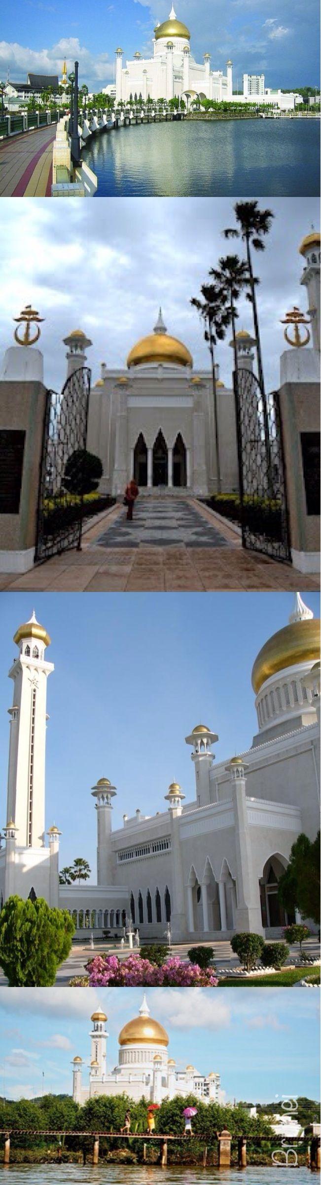O Brunei Oficialmente Nacao De Brunei Em Arabe دولة بروناي دار السلام E Um Estado Soberano Localizado Na Co Most Beautiful Places Beautiful Places Brunei