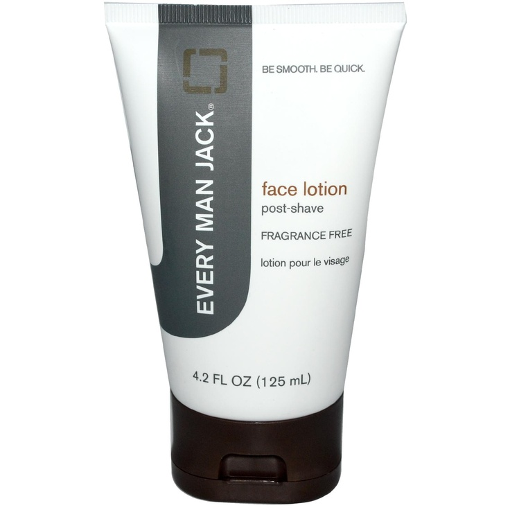 Every Man Jack, Face Lotion, Fragrance Free, 4.2 fl oz (125 ml): Oz 125, Men Jack, Faces Lotions, Jack O'Connell, Fragrance Free, Healthy Life Styl, Life Styl Products