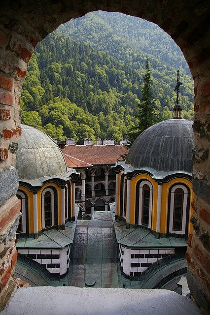 Rila Monastery . Bulgaria