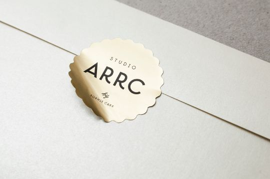 Studio Arrc - Branding on Behance - https://www.behance.net/gallery/13030661/Studio-Arrc-Branding