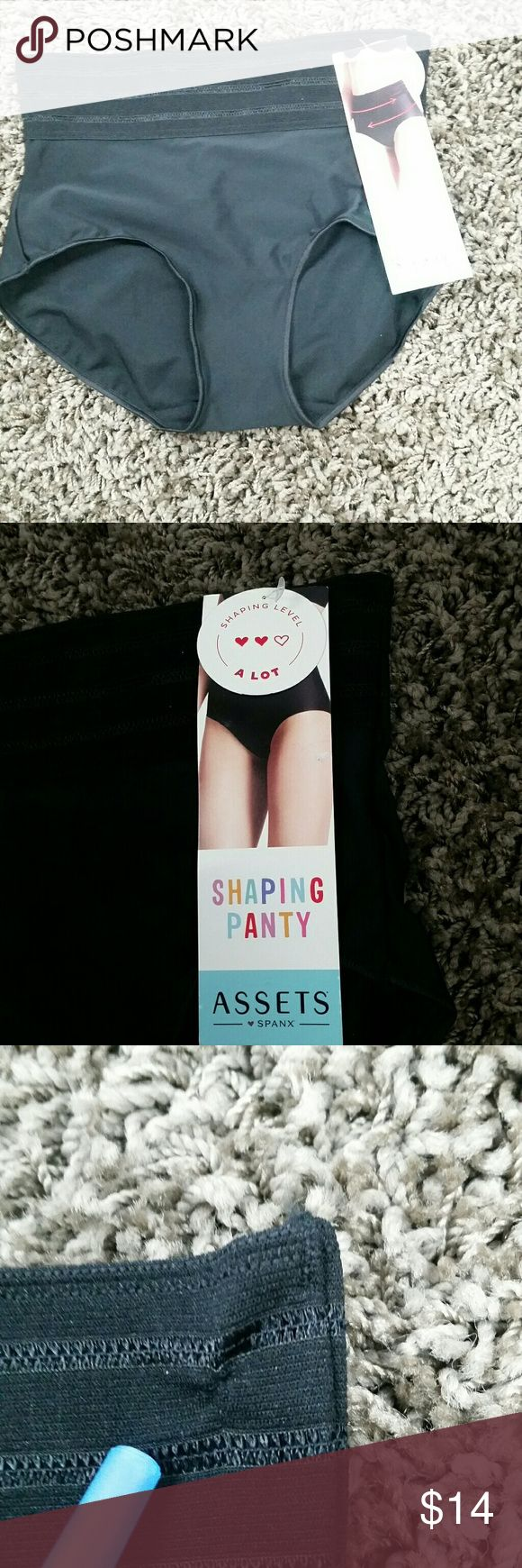 Love Your Assets Spanx Shaping Panty Tummy Control Love Your Assets Spanx Shaping Panty Tummy Control Foundation Garment Size Small  Excellent condition, one small snag (pictured) Please see pictures for more details.  All items are stored in a pet friendly, smoke free home but we source from many different places and cannot guarantee that items were in a smoke/allergen free environment before they came to us. Thank you for looking and shopping with us! SPANX Intimates & Sleepwear Shapewear