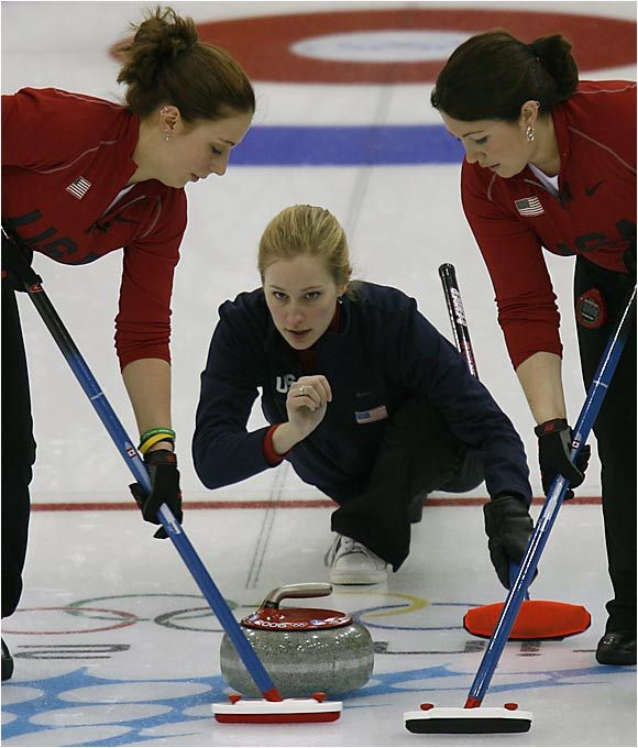 Curling-it is thought that curling began in medieval Scotland