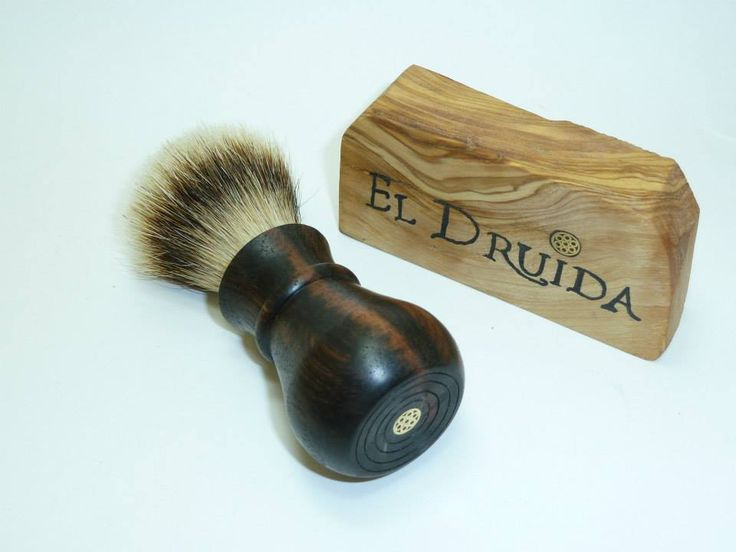 Druida Bulbo, ebano de macassar, Silvertip Grade A 20 mm - Foro Afeitado  www.artesaniaeldruida.com