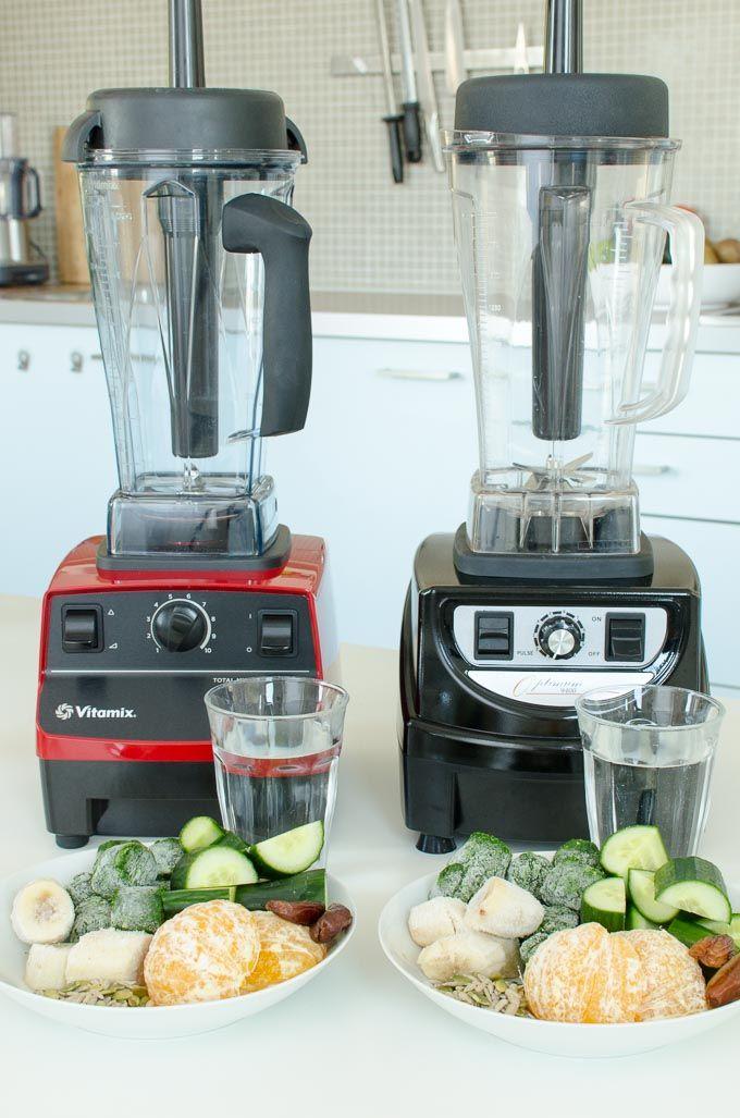 Vitamix 5200 en Optimum 9400 review: boerenkool smoothie maken