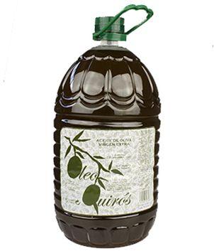 Aceite Montes de Toledo, Oleo Quirós, 5 l. De coloración dorada a verde intensa, en nariz es aromático, muy fresco y afrutado.En boca es de grato paso denso, que recuerda a fruta fresca y almendra cruda, con buen equilibrio y estructura, y un sabor suave y sutil picor, apenas perceptible. http://www.porprincipio.com/aceites/169-aceite-montes-de-toledo.html#
