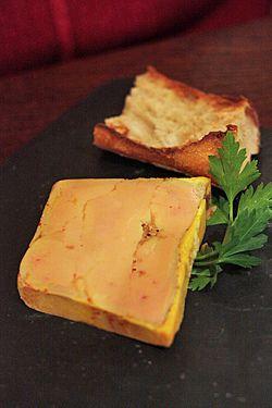 foie gras, el mejor es el de mi marido!!