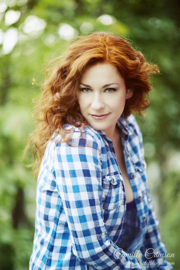 camille crimson - Pesquisa Google | Redhead beauty, Red